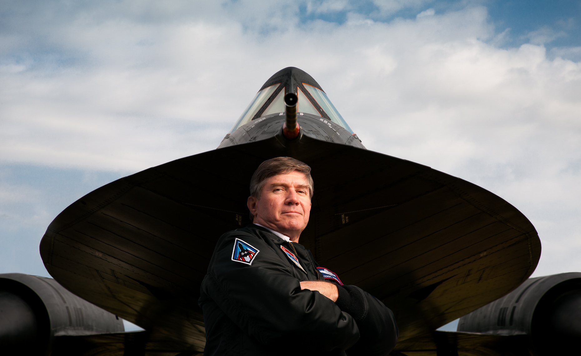 SR71 BLACKBIRD PILOT SEALE