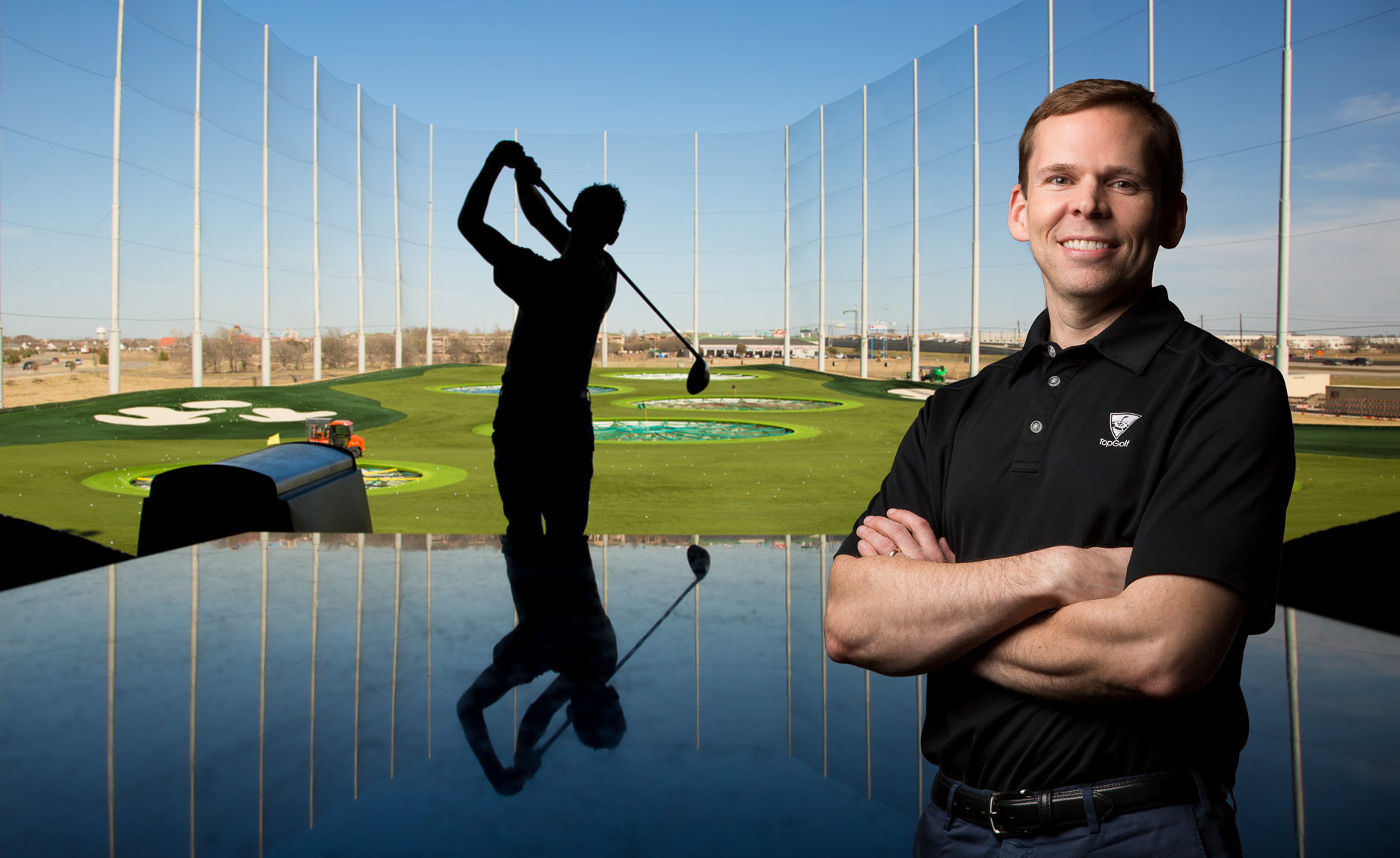 Golf - TopGolf-Tom Leverton