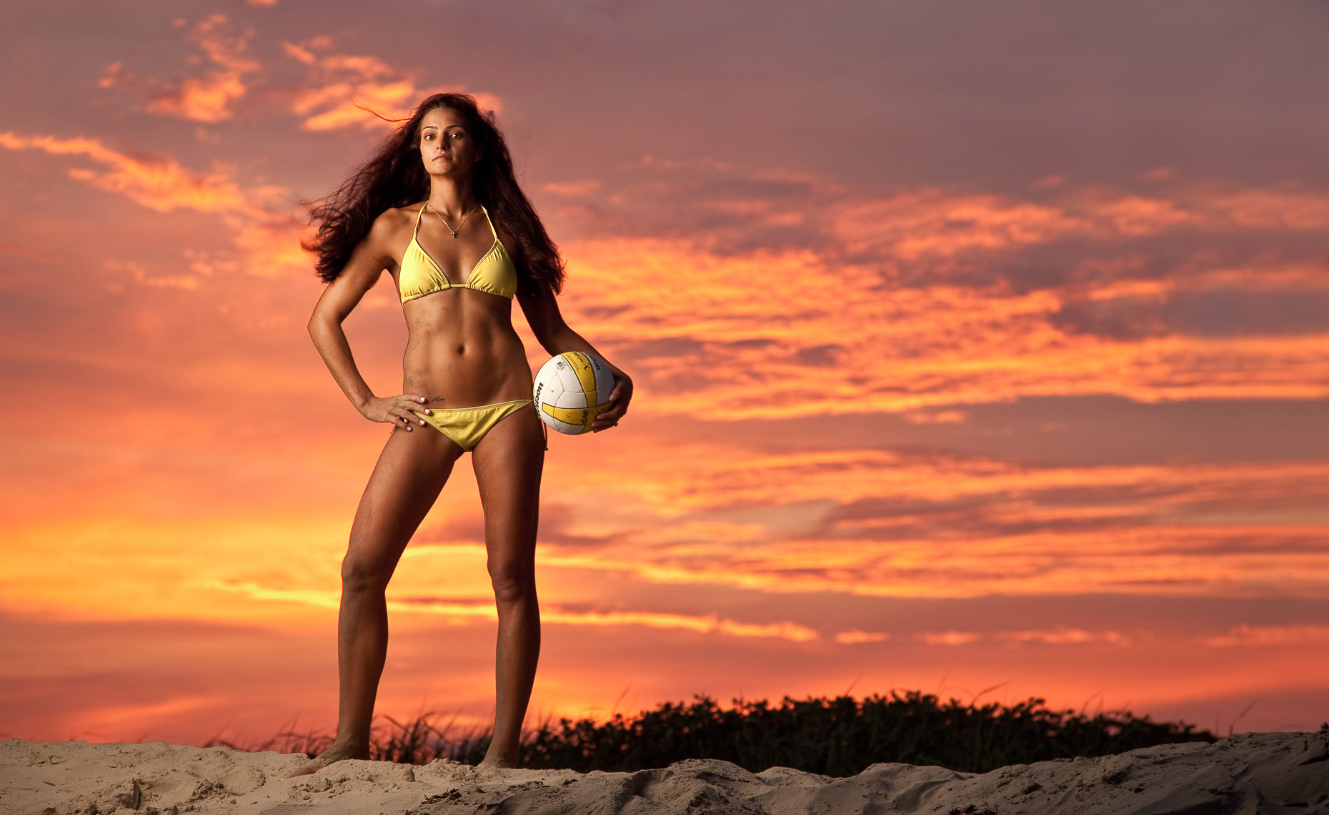 SEALE_SPORTS_PORTRAIT AVP BEACH VOLLEYBALL BIKINI
